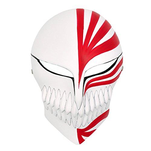 CoolChange Bleach Hochwertige Hollow Maske Ichigo Kurosaki aus GFK (Hollow Ichigo Kostüm Mit Maske)