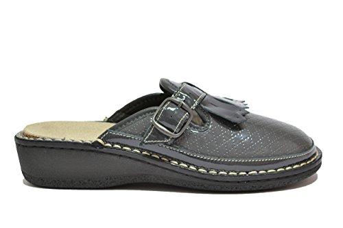 Cinzia Soft Ciabatte scarpe donna antracite PLANTARE ESTRAIBILE 2020QB1 37