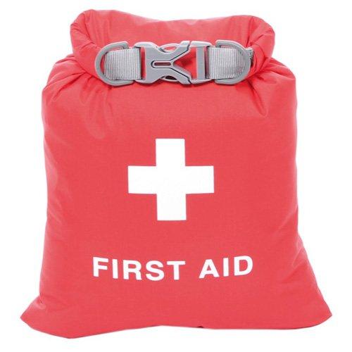 Exped wasserdichte Falte-erste-Hilfe-Tasche - ohne Inhalt - S - 1.25 Ltr rot -