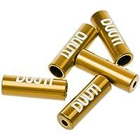 5tlg./set Aluminium Endkappen / Endhülsen für Bremszug, Schaltzug, Brems-, Schaltseil - Fahrrad Ersatzteile / Fahrrad Zubehör