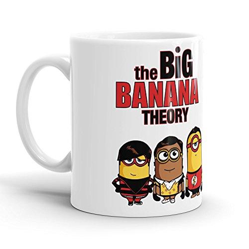 Preisvergleich Produktbild Big Banana Theory - Tasse / Becher