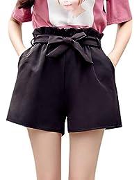 bd28c45cd5 FAMILIZO Pantalones Cortos Mujer Básicos Gimnasio Pantalones Cortos Mujer  Verano Deporte Ajustados Cintura Alta Short Yoga