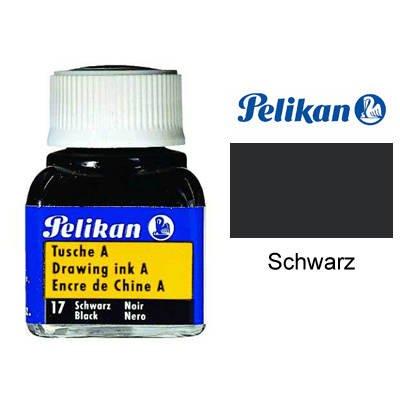 Tusche A von Pelikan, Glas 10ml, Schwarz [Spielzeug]