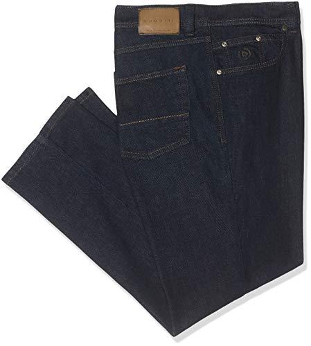Bugatti Herren 3280D-16640 Loose Fit Jeans, Blau (Dunkelblau 390), W40/L34 (Herstellergröße: 4034)