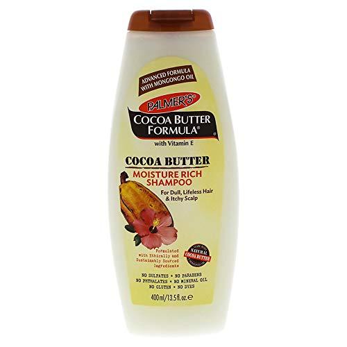 Palmer's 7061699 CBF Moisturizing Shampoo auf Kakaobutter und Minze ätherisches Öl, 400ml, 1 Stück -