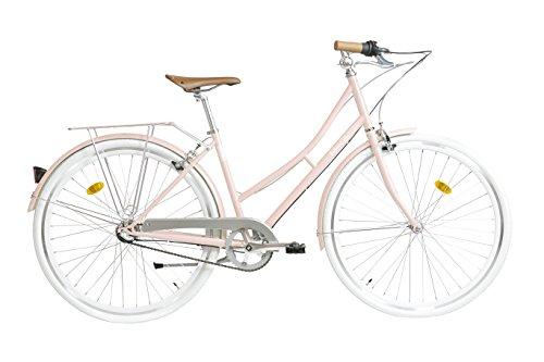 Fabric Cityrad - Hollandrad Damen Fahrrad, Shimano inter 3-Gang, 5 Farben, 14 Kg (Pink Shoreditch, 45)