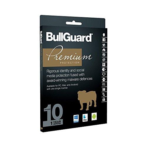 BULLGUARD BG1632-S Premium Schutz 2017 10 Benutzer (1 Lizenz) Einzelhandel Multi Device Lizenz 1 Year Software > Sicherheit software)