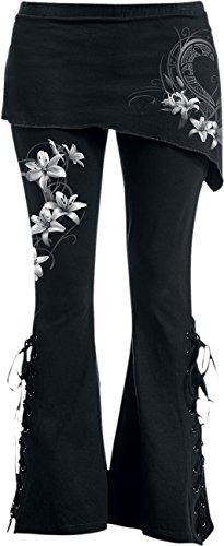 Spiral -  Leggings  - Donna Black Small