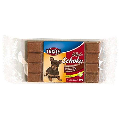 TRIXIE Barretta di cioccolato mini-schoko 30gr - Snack e biscotti cane ossa