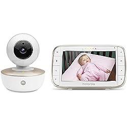 Moniteur bébé connecté avec écran Couleur 5 Pouces MBP855