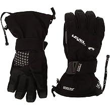 Level Half Pipe Xcr - Guantes de esquí para hombre, color negro, talla M