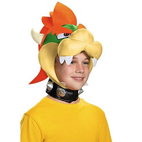 Generique - Bowser Mütze für Kinder - Bowser Kinder Kostüm