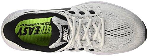 Nike Herren Air Zoom Vomero 12 Laufschuhe Weiß (White/black/pure Platinum)