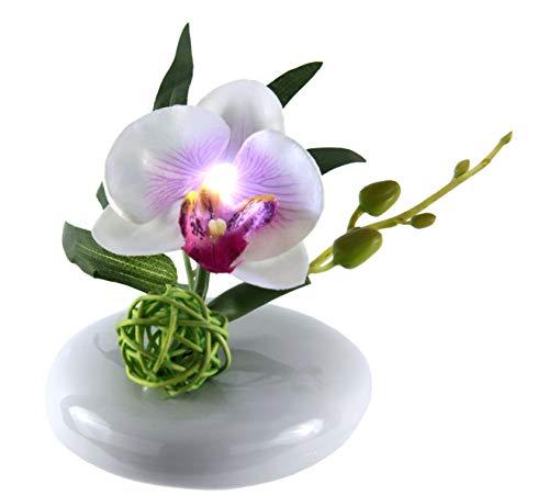 LED-Orchidee mit Vase