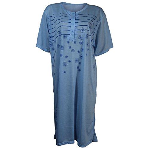 Lavazio - Chemise de nuit - Femme bleu clair