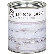 Lignocolor Sperrgrund auf Wasserbasis Isoliergrund Kreidefarbe 750ml