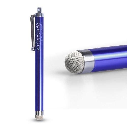 Caseflex Samsung Galaxy S7 Edge Griffel Stift Mit Mikrofaser Spitze – Blau (Samsung Tablet Tasche Griffin)