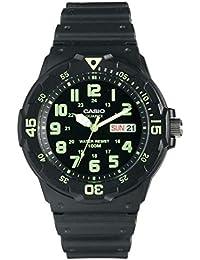 2f1e56d1e5ce Casio Reloj Analógico para Hombre de Cuarzo con Correa en Resina  MRW-200H-3BVEF