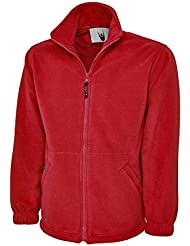 Classic Full Zip Fleece Jacket - Ideal for Sports, Work and Leisure