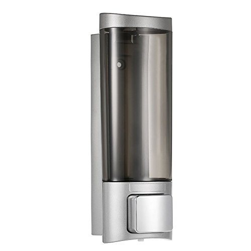 Newthinking Soap Dispenser -200ml Wall Mounted pump Soap Dispenser - Manual Hand Soap Dispenser-Kitchen Bathroom Home Office Hospital Hotel School Restaurant