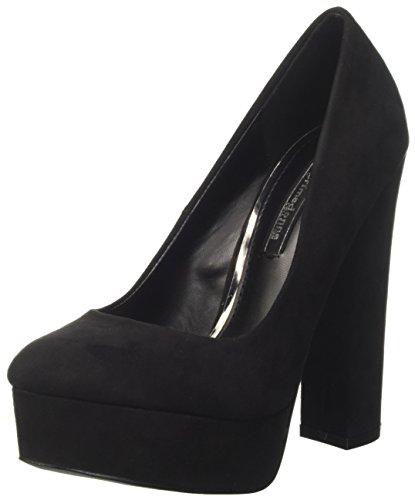 Primadonna 109993791mf, scarpe col tacco con plateau donna, nero, 38 eu