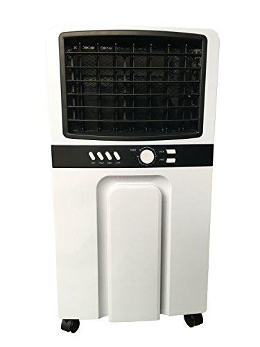 Breakling B136 Rafraichisseur humidificateur-assainisseur d'air 3 en 1, Blanc