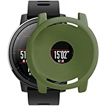 Protector Case para Huami Stratos 2/2S Smartwatch, Zolimx Suave TPU Protectora de Silicona