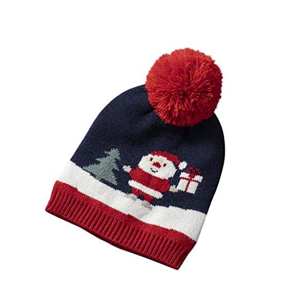 IJKLMNOP Sombreros navideños, niños pequeños y medianos, Sombreros de Punto, Sombreros a Rayas 1