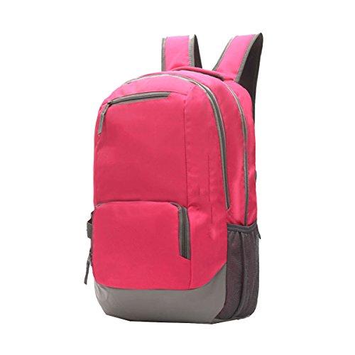 Borsa A Tracolla Xin.S Borsa Da Viaggio Borsa Da Viaggio Borsa Per Alpinismo All'aperto Sport Per Il Tempo Libero Passeggiata Zaino Da Viaggio. Multicolore Pink