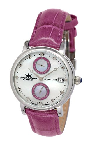 Yonger & Bresson Women's Watch with Large Tière Analogue Display Pink YBD 8521 – 14