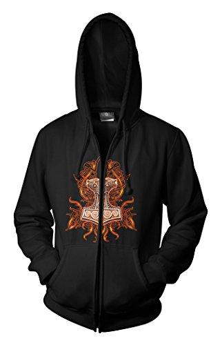 Wotan Textil -  Giacca sportiva - Uomo nero XXXL