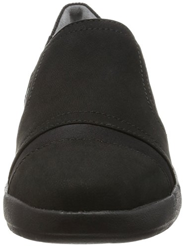 Rockport - Devona Demsa Slip On, Mocassini Donna Nero (Nero (nero nabuk))