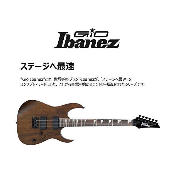 IBANEZ GRG121DX-BKF – Walnut Flat