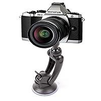 DURAGADGET Shake-Proof Universal Camera Windscreen Mount Compatible With Olympus OM-D EM-1, OM-D EM-5, Stylus SP-820UZ & TG-620 Cameras