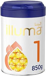 Wyeth Nutrition Illuma HMO Stage 1, 0-6 Months Super Premium Starter Infant Formula, 850g