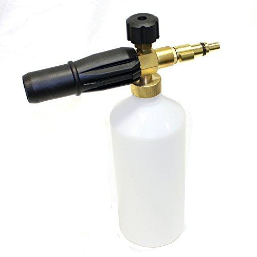 Snow foam lance variabile ugello spray bottiglia per lavor idropulitrice