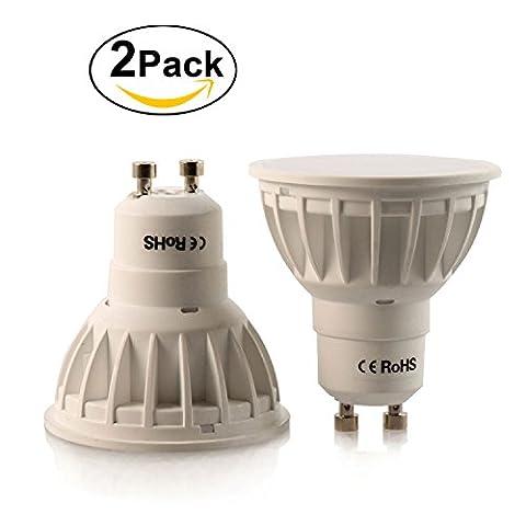Foonii 2 PCS LED GU10 5W, Equivalentes Ampoules Halogènes 50W,