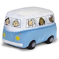 Preisvergleich für NICI 31906 - Sitzkissen Bus 30 x 42 x 30 cm blau