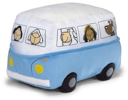 NICI 31906 - Sitzkissen Bus  30 x 42 x 30 cm blau