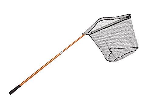 Stabiler Teleskop Kescher mit gummiertem Netz in 2 Längen