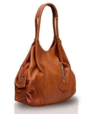 Fostelo Style Diva Women's Handbag (Tan)