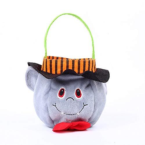 AHBPF Neue Werbegeschenke Kinder Geschenke Halloween Party Kostüm Requisiten Stoff Handtaschen, Weiße Ghost Tasche