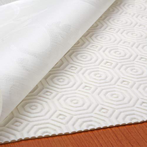 Tischdeckenunterlage Tischschoner Schutzunterlage Tischpolster Schutz Unterlage Tischdecke Meterware Größe Wählbar Weiß (100 x 140 cm)