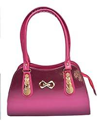 HBOS Stylish Ladies Handbag (Pink Bag 208)