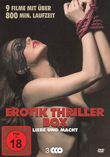 Erotik Thriller Box : Are You Ready To Play? - Gefangen in Begierde - Dark Secrets - Temple Of Desire - Tödliche Ekstase - Überleben im Frauenknast - ... der O - Sleeping Beauties House - 3DVD