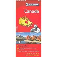 Carte Canada Michelin