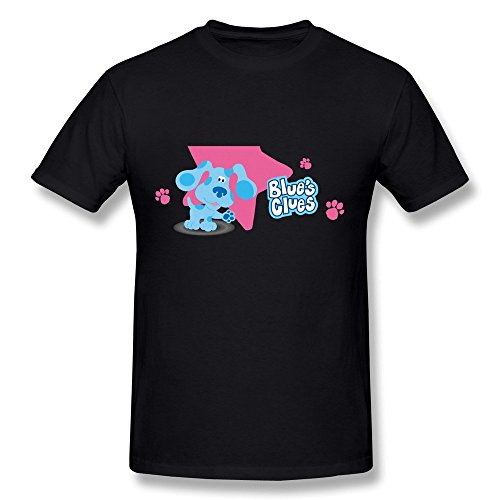Herren's Blue's Clues Portrait T-Shirt (Clues-bekleidung Blues)