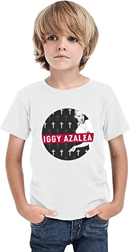 Iggy Azalea Bw Boys T-shirt 8/9 yrs -
