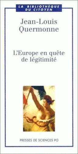 L'Europe en quête de légitimité