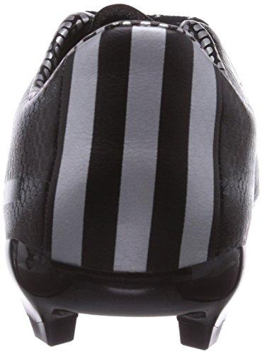 adidas F10 Firm Jungen Fußballschuhe Schwarz (Core Black/Silver Met./Silver Met.)